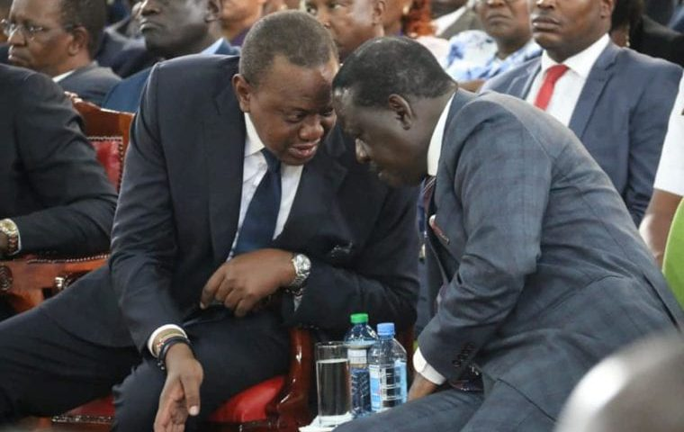 There Is No Corruption Uhuru & Raila Are Fighting, Except Fighting Individ'ls 1
