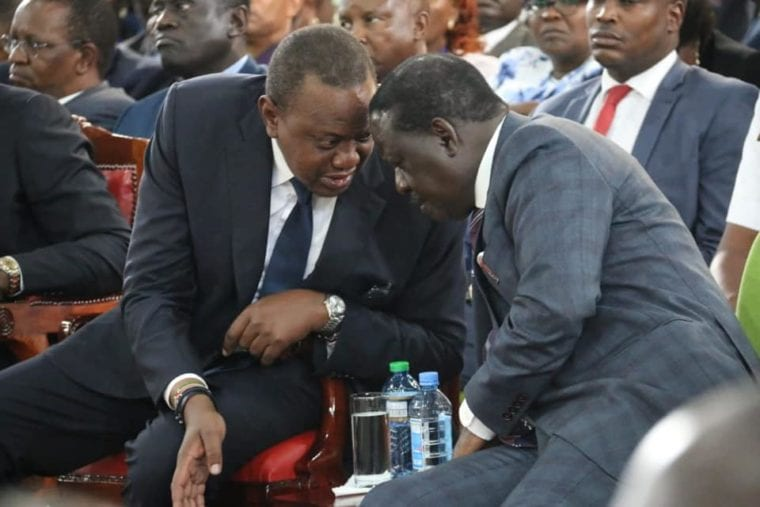 THERE IS NO CORRUPTION UHURU & RAILA ARE FIGHTING, EXCEPT FIGHTING INDIVID'LS 3