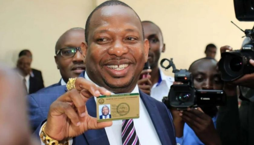 Governor Mike Sonko 2019 ScoreCard Before The Arrest. 2