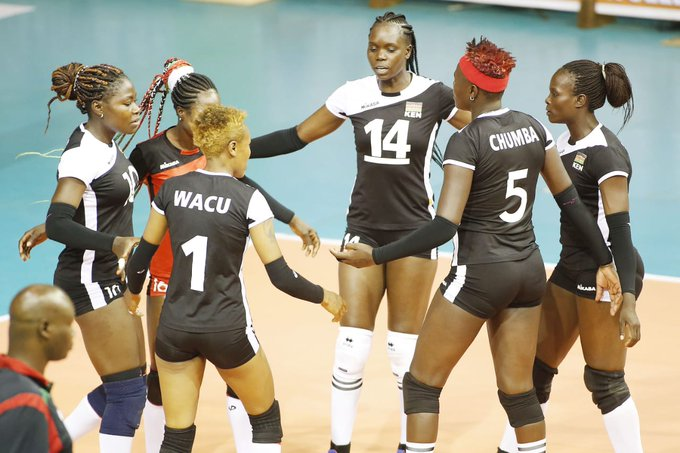 The Women's Volleyball Team Malkia Strikers Have Officially Qualified For The 2020 Tokyo Olympics 1