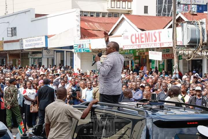 President Calls for Focus on Development as he Issues Title Deeds to Nyakinyua group Nakuru. 2