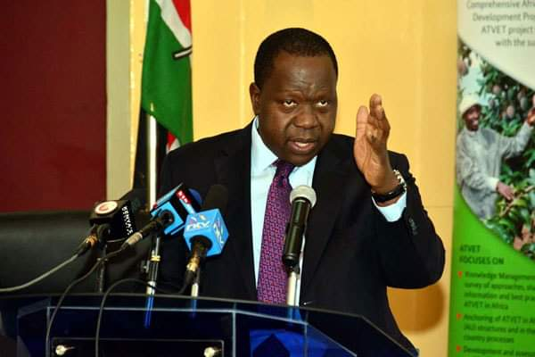 Cs Fred Matiangi 10-Point Plan To Tackle Graft, Terrorism And Cartels. 1