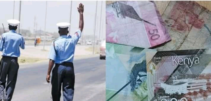A EMBU MAN ESCAPES WITH DAY'S BRIBE FROM TRAFFIC POLICE. 2