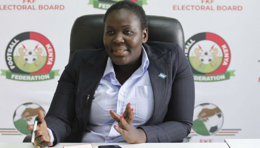 SALLY BOLO PULLS OUT OF FKF RACE, SAYS CURRENT ENVIRONMENT TOO HOSTILE FOR FREE AND FAIR ELECTIONS 1