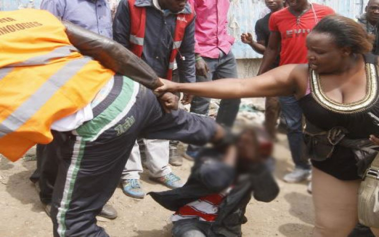 Murang'a, Maragua Man Stringed up After Attempting to Rape His Mother. 1