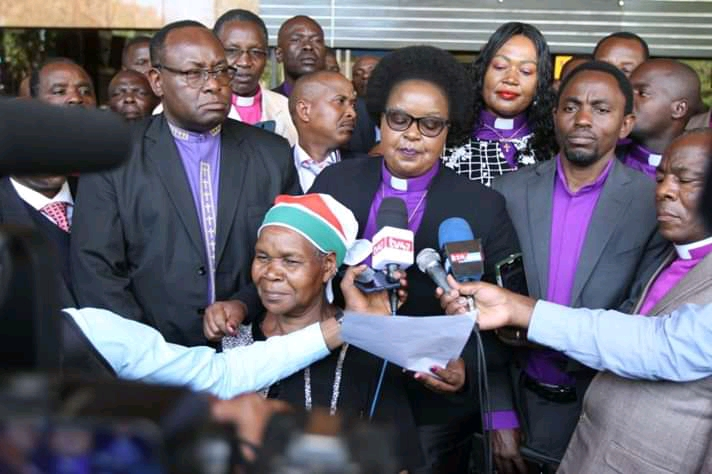 BISHOP MARGARET WANJIRU AND CHURCH LEADERS UNVEILS CHURCH BBI RECOMMENDATIONS. 7