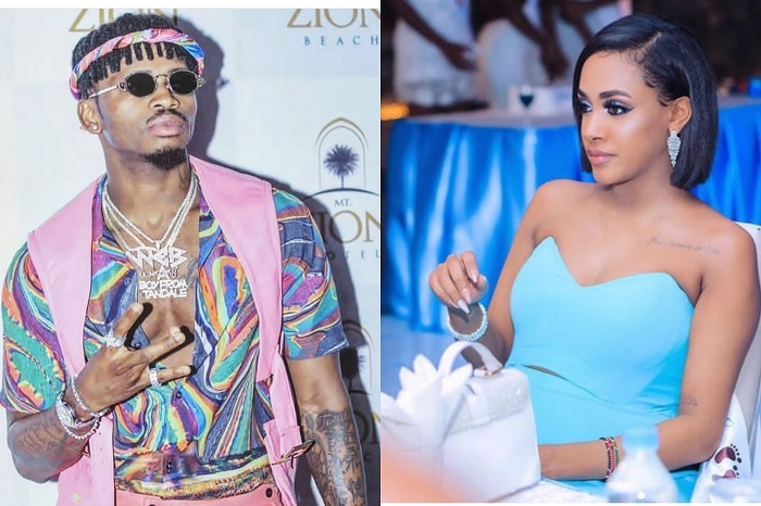 The Lady, Diamond Platnumz Cheated Tanasha With During Europe Tour, She Is From South Africa - Malaika Salatis 1