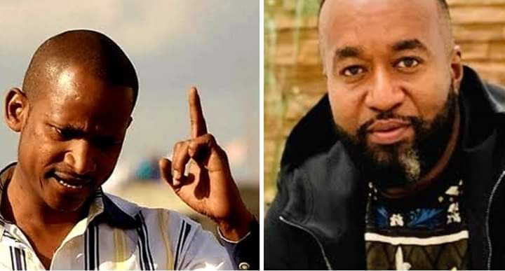 Governor Joho and Babu Owino