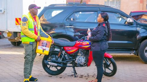 Rev Lucy Natasha Reaches Out to Bodaboda riders amid COVID-19 Crisis 2