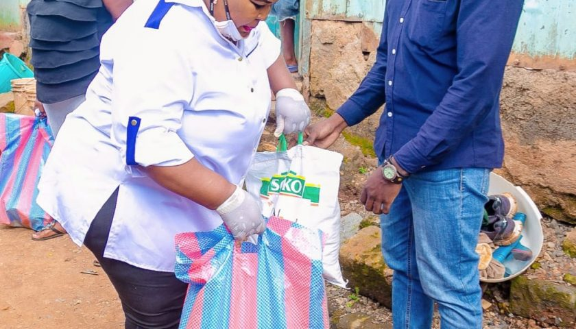 Rev Lucy Natasha Shows Love to Street Families 3