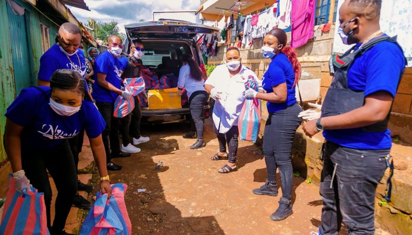 Rev Lucy Natasha Shows Love to Street Families 4