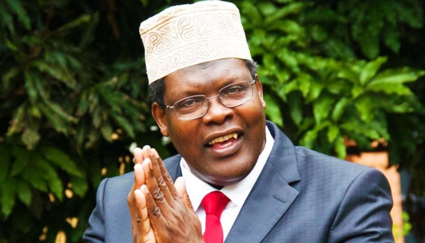 Dr.Miguna Miguna.(Source/Facebook/courtesy)