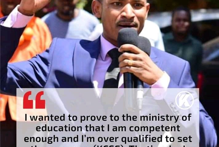 Babu Owino Will Be Taking KCSE Candidates On A 2nd Mathematics Revisions. 1