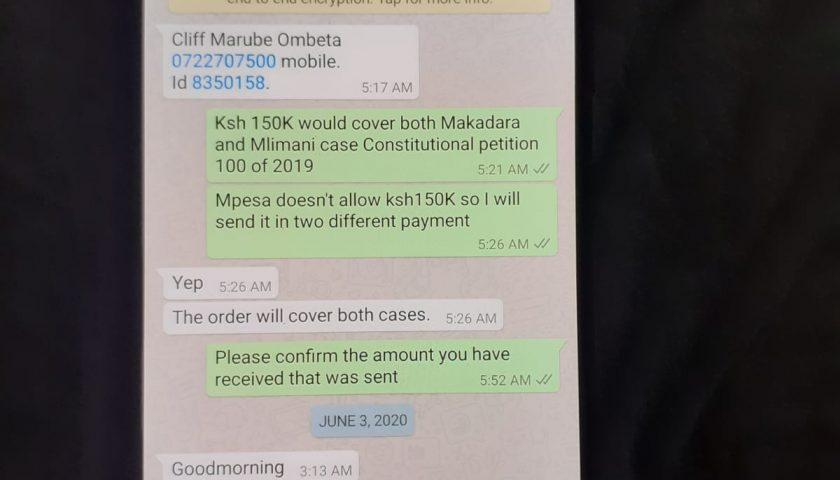 How Babu Owino Lawyer Ombeta Conned Allegedly American 150K and Failed to Represent Him in Court. 1