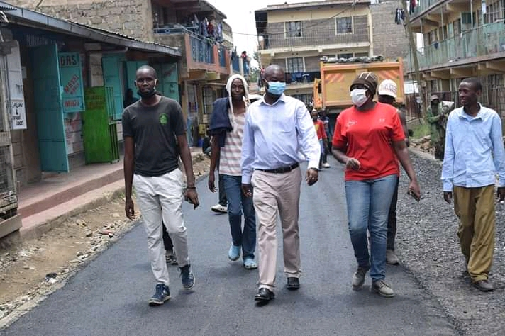 Mwangi Promises To Transform  Kayole Into A Posh Estate 6