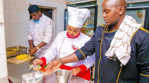 Rev Natasha Showcases Her Cooking Skills in a street Function. 2