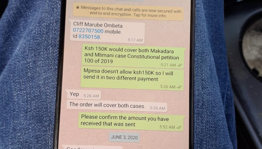 How Babu Owino Lawyer Ombeta Conned Allegedly American 150K and Failed to Represent Him in Court. 3