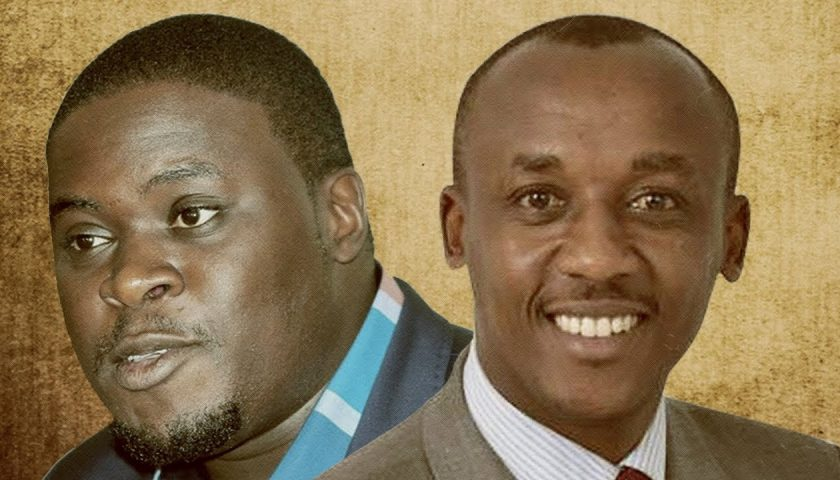 Mutula Kilonzo Jnr and Johnson Sakaja