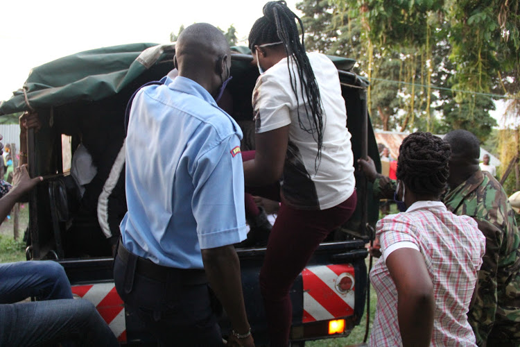 Police storm a sex party in Homa Bay and arrest 35 teenagers 3