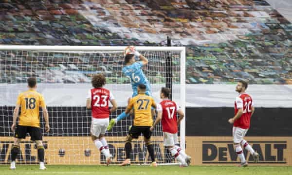 Gunners outwit The Wolves 10