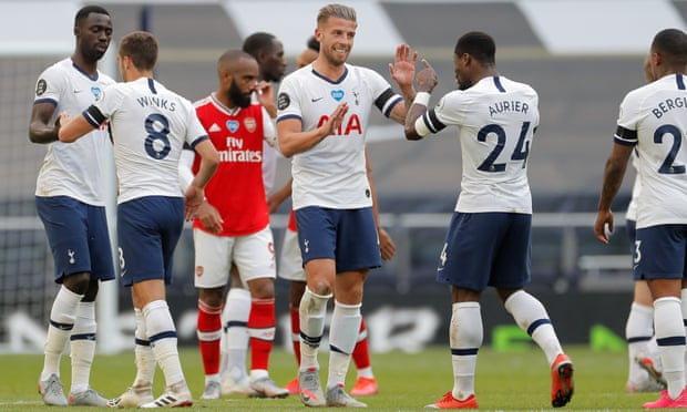 Gunners short of ammunition as Tottenham  snatch north London Derby bragging rights 3