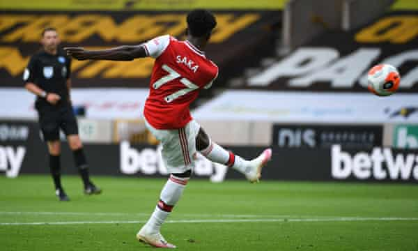 Gunners outwit The Wolves 2