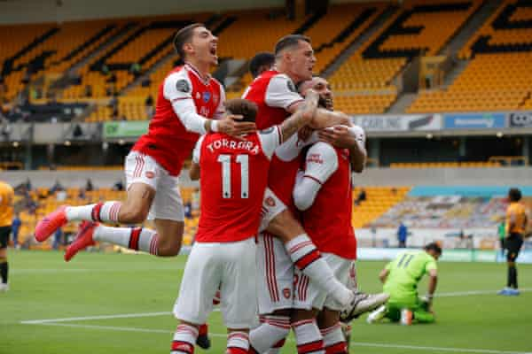 Gunners outwit The Wolves 1