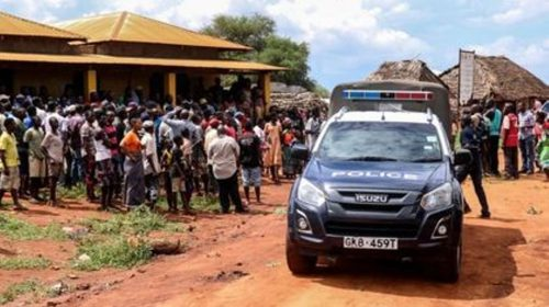 13-year-old class five boy Stabs a 17-year-old
