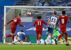 Salah strikes twice as the Reds hit three past Albion 1