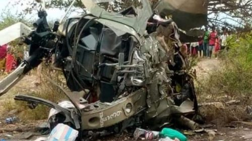 Crashed KDF Chopper