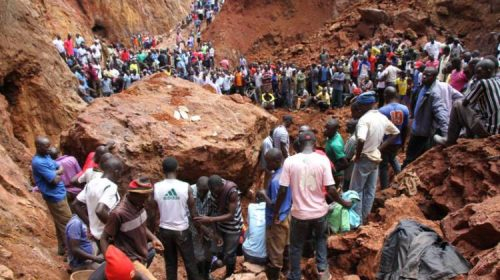 Gold Mine Collapse