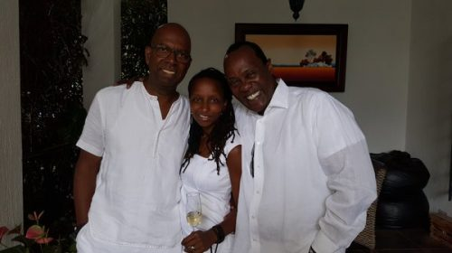 Bob Collymore's Widow