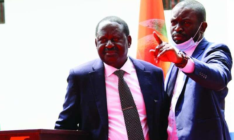 Raila Released ''His Troops'' to Rebuke Kenyans Condemning Theft of Covid-19 Billions