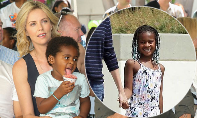 Charlize Theron Adopted