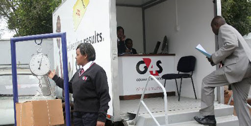 G4S Security, Nairobi mini Bloggers
