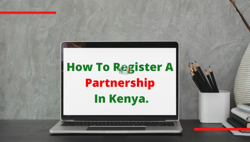 How To Register A Partnership In Kenya