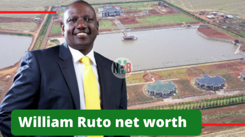 William Ruto net worth