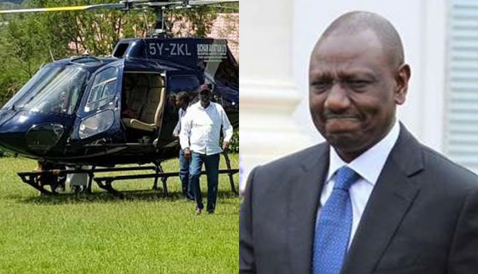 William Ruto Has Moved His Choppers