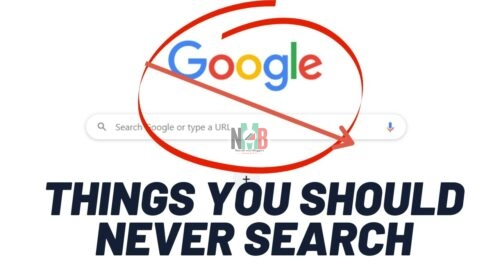 Never Search For on Google