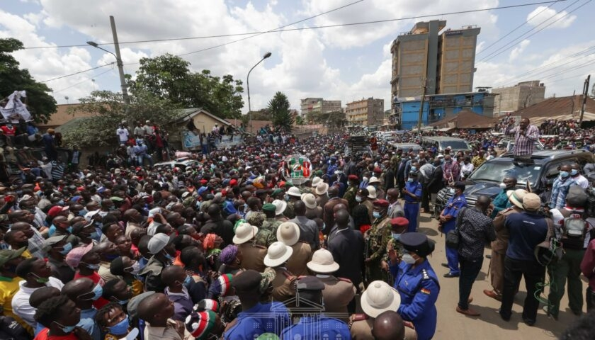 Nairobi Youths Asked President Uhuru To Do On DP William Ruto