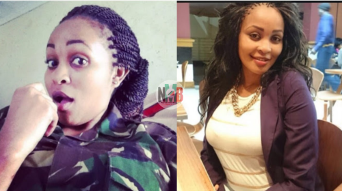 #KDFDay: Beautiful Kdf Soldier Breaks the Internet With her Curvaceous Photos