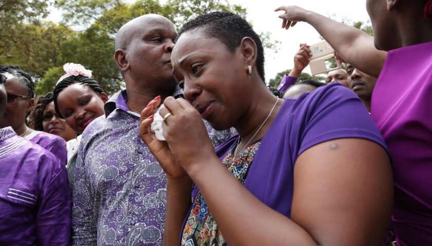 Photo: Sabina Chege with her daughter