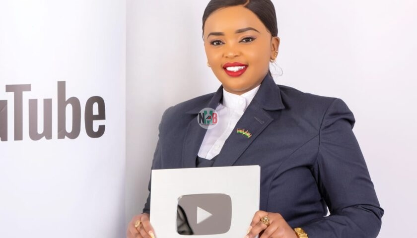 Popular Rev Lucy Natasha Wins Top YouTube Award after Reaching 200k YouTube Subscribers 3