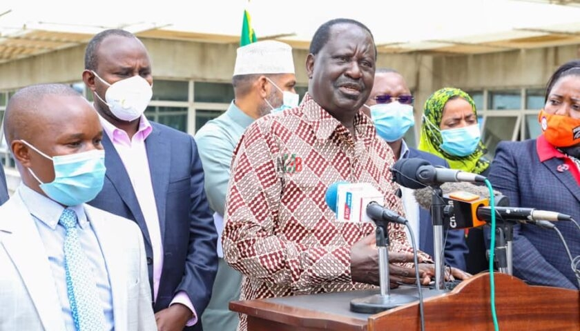 Ichungwa Castigates Raila For Attacking The Church