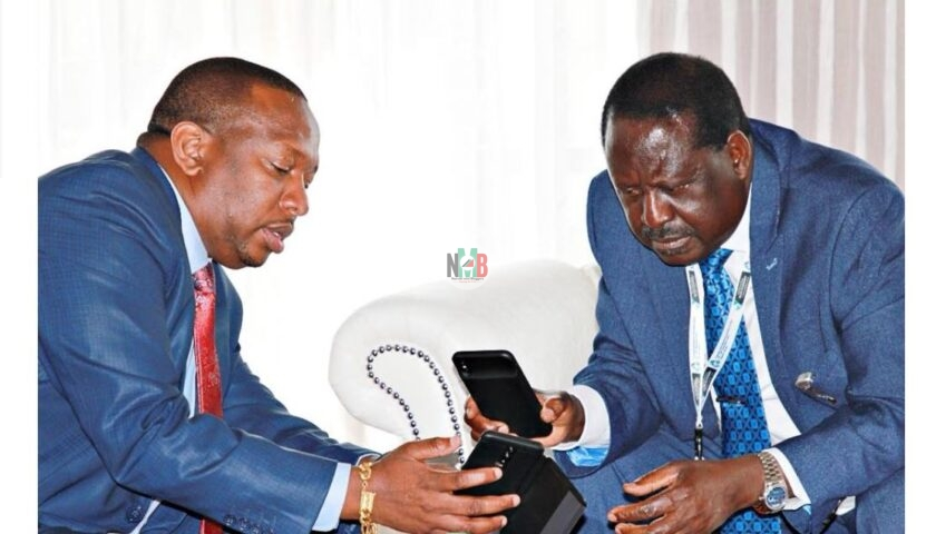 Helpless Governor Mike Sonko Runs To Raila Odinga For Help, See Raila Demands.