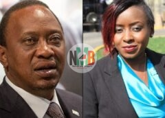 How Uhuru Pressed To Be interviewed by heavily Pregnant Jacque Maribe.