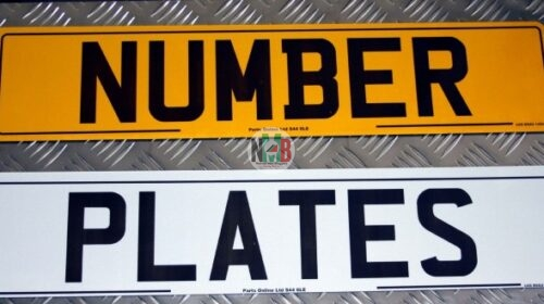 Number Plates in Kenya