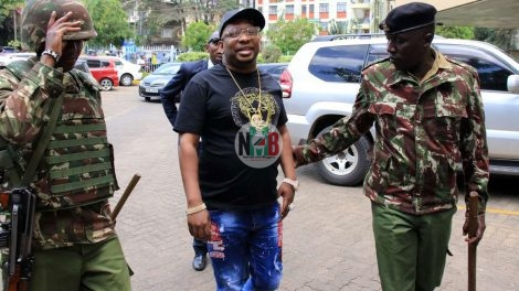 Mike Sonko Arrested