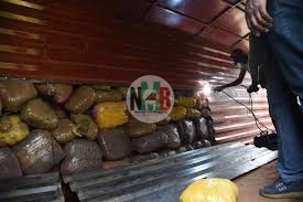DCI Arrests 1 Woman and 4 men in Isiolo-Wajir highway Seized Transporting Bhang worth 20M to Nairobi.