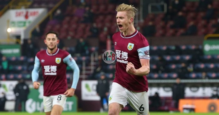 Goal: Burnley won 1:0 against Sheffield United